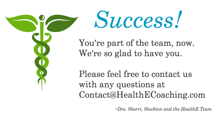 Success! |HealthE Coaching